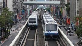 Saat MRT Taiwan Disulap Jadi 'Lapangan' Olahraga