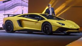 Lamborghini Terbakar Akibat 'Overheat' di Sentul