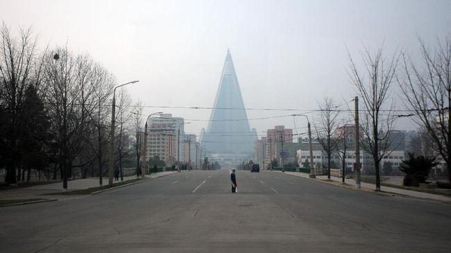 Ada Tanda Kehidupan dari Hotel 'Suram' Korea Utara