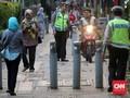 Pejalan Kaki Dianiaya Ojek Online, Polisi Bakal Awasi Trotoar