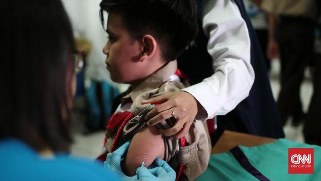 Imunisasi MR Tahap Kedua Sasar Anak-anak di Luar Pulau Jawa