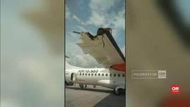 Lion Air dan Wings Bersenggolan di Bandara Kualanamu