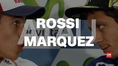 Ganteng Mana: Valentino Rossi vs Marc Marquez?
