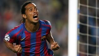 Ronaldinho Si Raja Pesta Berujung Sengsara