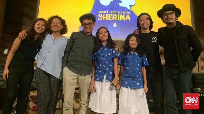 Petualangan Sherina Hidup Kembali dalam Drama Musikal