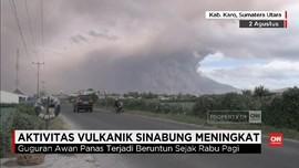 Aktivitas Vulkanik Gunung Sinabung Meningkat