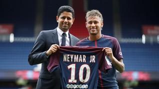 Ayah Neymar Beri Garansi kepada Presiden PSG