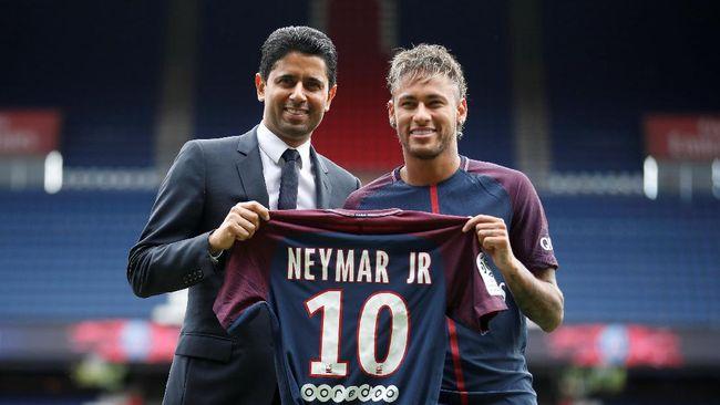PSG Rilis Nama Neymar Lawan Guingamp