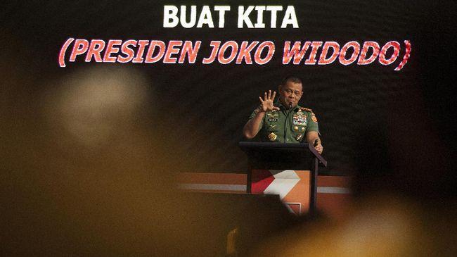 Panglima TNI Akui Perlu Riset Mendalam untuk Film G30S/PKI