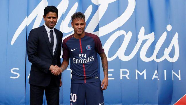PSG Belum Bayar Transfer Neymar ke Barca