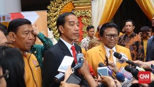 Minta Bertemu di Hotel, Jokowi Batal Hadiri Rakernas Hanura