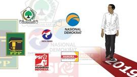 Ramai-ramai Dukung Jokowi di Pilpres 2019