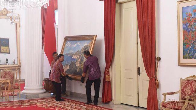 Istana Konservasi Lukisan Karya Basoeki Abdullah