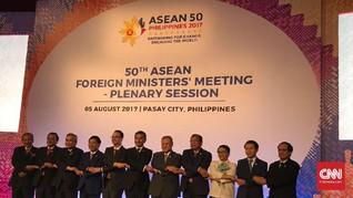 KTM ASEAN Silang Pendapat Mengenai Laut China Selatan