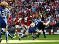 Arsenal vs Chelsea Imbang di Babak Pertama