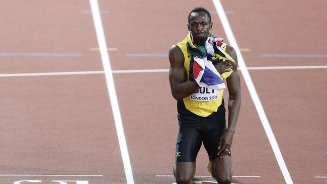 Berawal dari Bertaruh Traktiran, Bolt Jadi Bintang Dunia