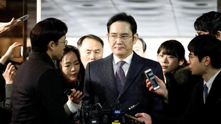 Bos Samsung Ajukan Banding Putusan Lima Tahun Penjara