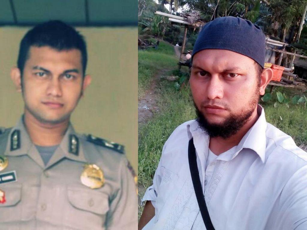 Di hari yang sama dengan beredarnya kisah Serka Darwis, ada lagi cerita Muhammad Zulkiram di Aceh. Dia keluar dari kepolisian setelah merasa tidak berkah karena masuk dengan cara menyogok. Zulkiram memilih berhijjrah dan berdakwah (dok Instagram)