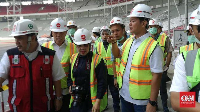 Presiden INAPGOC: Stadion GBK Belum Sepenuhya Ramah Difabel