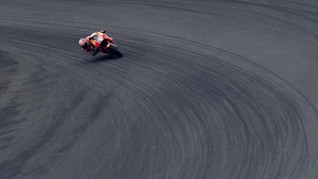 Marquez Sedih Disoraki Fan Rossi Saat Jatuh di GP San Marino