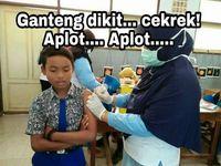 Mungkin sebenarnya takut, tapi demi jaga image.Facebook: Eko Bambang Visianto