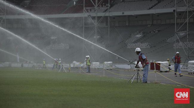 Renovasi Stadion GBK Rampung Bulan Depan