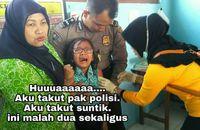 Kalau sudah tidak tertahankan, ya sudah menangis saja.Facebook: Eko Bambang Visianto