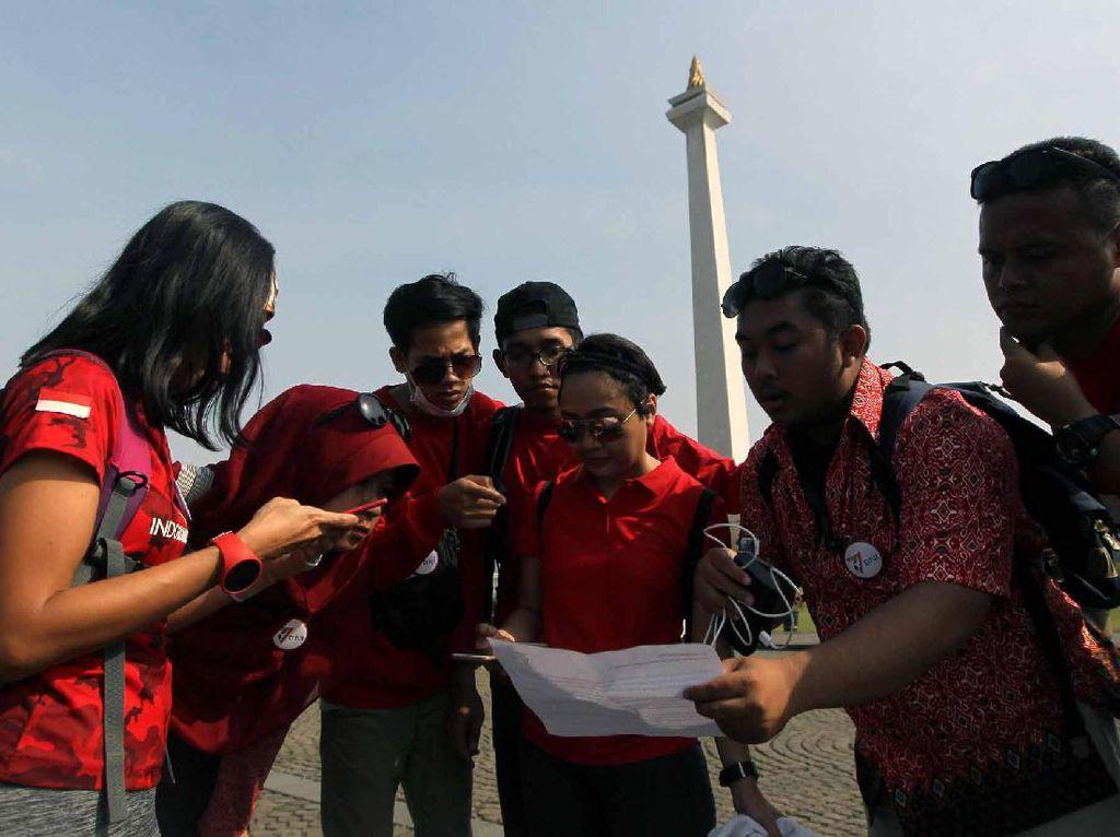Sebanyak 70 peserta yang dibagi menjadi 10 tim menyelesaikan 7 misi berbeda di 7 titik lokasi di sekitar Jakarta dengan menggunakan moda transportasi khas Jakarta saat ini, yaitu Bus Transjakarta dan KRL.