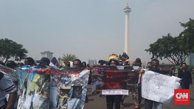 Warga Papua Demo Tuntut Penuntasan Kasus Deiyai