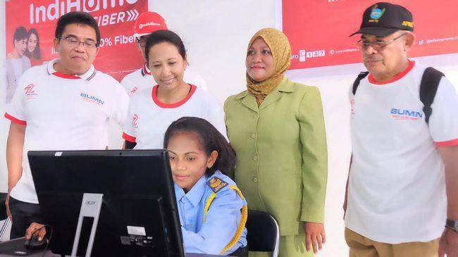 Pulau Perbatasan Indonesia -Timur Leste Diselimuti Internet