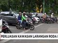 Wacana Perluasan Zona Pembatasan Sepeda Motor di Jakarta