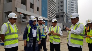 Menteri Basuki Ingin Sebagian Wisma Atlet untuk PNS PUPR