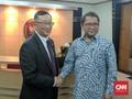 Sambangi Kominfo, Blackberry Jajaki Investasi di Indonesia
