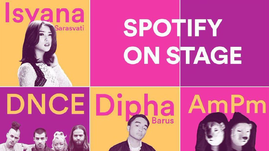 Spotify On Stage