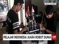 Pelajar Indonesia Juara Robot Dunia