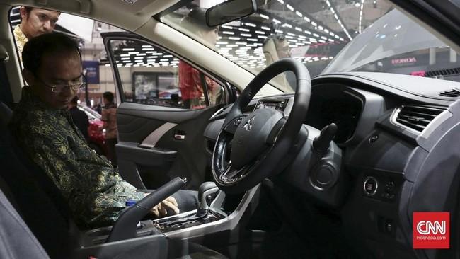 <p>Peserta pameran yang tergabung dalam Anggota Pemegang Merek (APM) juga telah menyiapkan mobil konsep sesuai dengan tema yang telah di tentukan yaitu 'Rise of The Future Mobility'. (CNN Indonesia/Andry Novelino)</p>