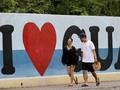 FOTO: Memandang Guam Sebelum Lenyap oleh Nuklir Korut