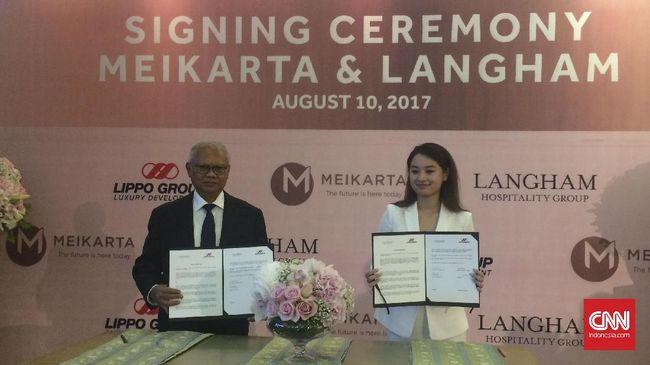 Grup Lippo Rangkul Langham Kelola Hotel Mewah di Meikarta