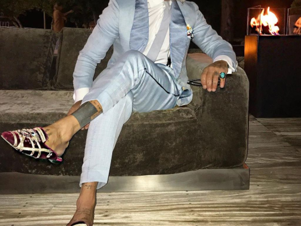 Namun ternyata di balik gaya hidup super mewah itu, Vacchi banyak utang. Foto: Instagram