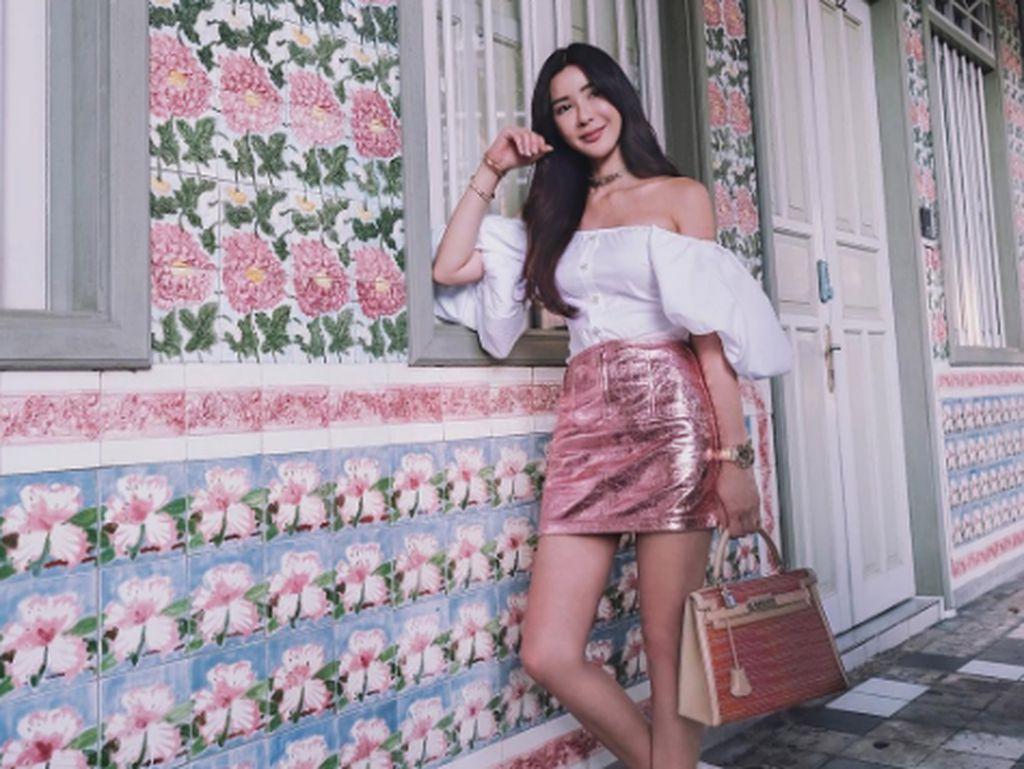 Foto: Jamie Chua, Sosialita Cantik dengan Koleksi Hermes Saingi Syahrini