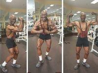 Usia Sam 'Sonny' Bryant Junior sudah 70 tahun lebih. Ia mengaku awalnya mulai pergi ke gym untuk menghilangkan stres lalu keterusan. (Foto: Instagram/sonnybryantjr)