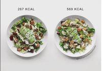 Foto-foto yang ditampilkannya menginspirasi 65 ribu followers, bahwa makanan yang dilabeli sehat tak selamanya sesehat yang dibayangkan. (Instagram: @thefashionfitnessfoodie)