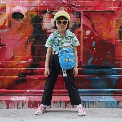 Foto: Bocah 6 Tahun yang Gayanya Stylish Banget, Pakai Versace Hingga Chanel