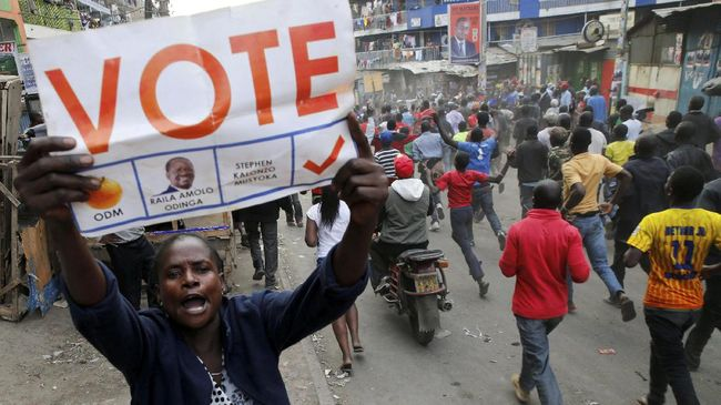 Kenya Kisruh Pasca Terpilihnya Kembali Presiden Kenyatta