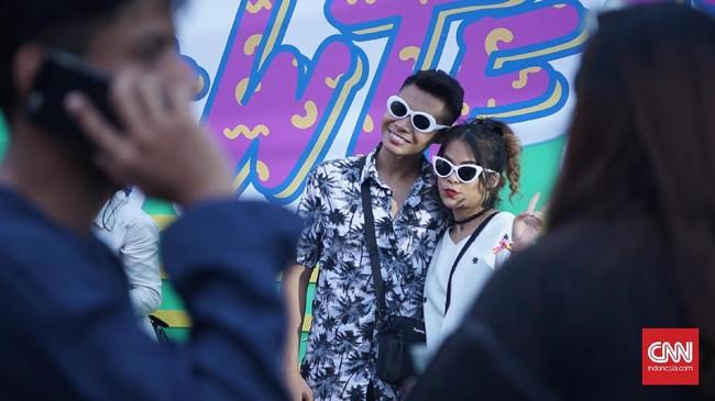 <p>Festival musik We The Fest 2017 resmi digelar mulai Jumat (11/8) hingga Minggu (13/8) di JIExpo Kemayoran, Jakarta.</p>