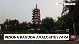 Wisata Gratis Pagoda Tertinggi Avalokiteshvara di Semarang
