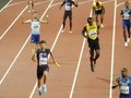FOTO: Kisah Sedih di Garis Finis Karier Usain Bolt