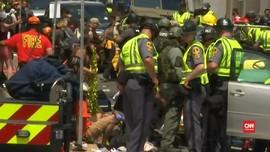 Detik-detik Serangan Mobil di Demo Charlottesville