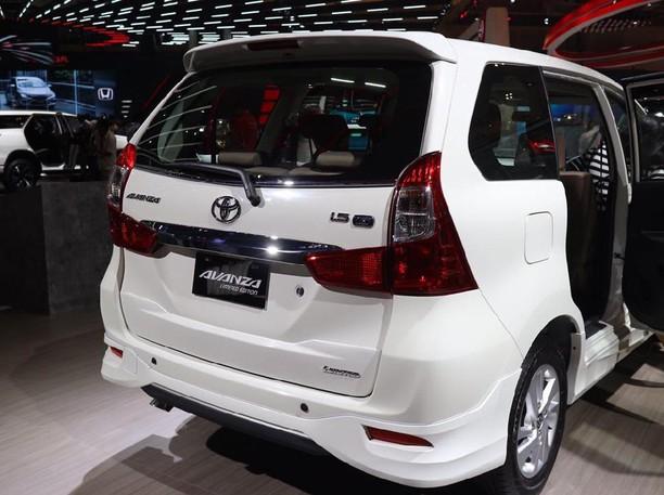 Ini Tampang Toyota Avanza Limited Edition yang Mejeng di GIIAS