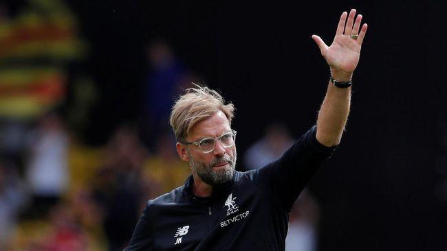 Klopp Sebut Liverpool Tak Beruntung Lawan Watford